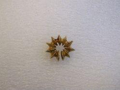 Fused disc Ear Ornament