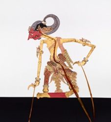 Shadow Puppet (Wayang Kulit) of Seta, from the consecrated set Kyai Nugroho