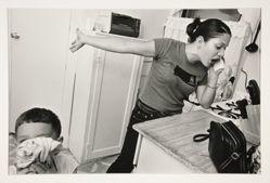 Mayra and her son Jordan, Brooklyn, NY, 2000