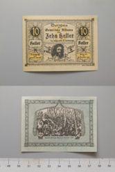 10 Heller from Alkoven, redeemable 31 Dec. 1920, Notgeld
