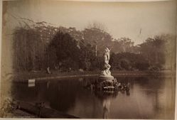 """Fountain."" Botanic Garden, Sydney, from the album [Sydney, Australia]"