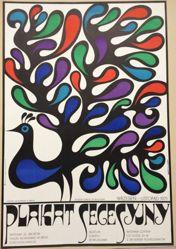 Plakat Secesyjny (Art Nouveau Poster)