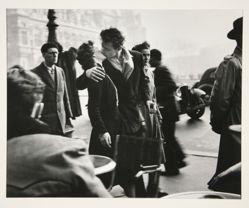 Le Baiser du Trottoir, from a portfolio of 15 photographs