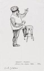Barnett Newman (Study for Cedar Bar)
