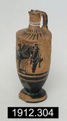 Black Figure Lekythos