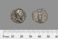 Denarius of Marcus Aurelius, Emperor of Rome from Rome