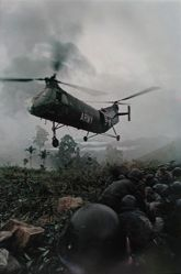 Army H-21 Helicopter, Tra Bong, from the series: Larry Burrows: Vietnam, The American Intervention 1962 - 1968