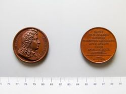 Bronze medal of William Congreve
