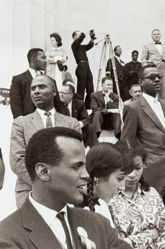 Harry Belafonte, Julie Belafonte, and Ruby Dee, from the series Prayer Pilgrimage for Freedom
