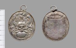 Dutch Death Medal for Mattys Geerkens Battelier