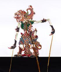 Shadow Puppet (Wayang Kulit) of Anoman or Hanoman