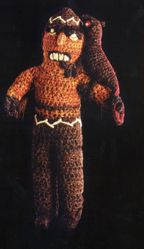Textile Figurine