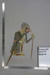 Shadow Puppet (Wayang Kulit) of Resi Gutomo, from the set Kyai Drajat