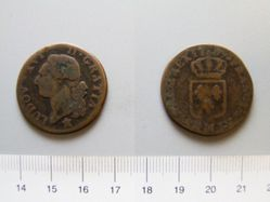 1 Sol of Louis XVI, King of France from Lille