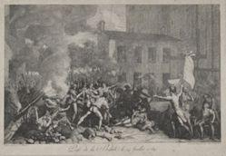 Prise de la Bastille le 14 Juillet (Storming of the Bastille, July 14)