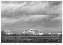 Black Mesa, San Ildefonso, from New Mexico Portfolio