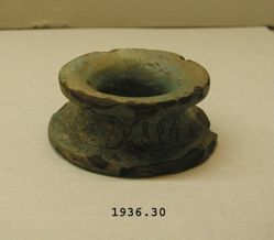 Jar stand inscribed for King Ka-nefer-re Sobek-hotep