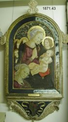 Virgin and Child with Saint Catherine and Angels