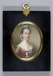 Mrs. George Watson  (Elizabeth Oliver)  (1730 - 1767) (copy after portrait of 1765)