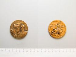 """Pro Belgica"" Medal In Honor of King Albert"