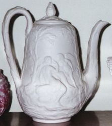 "Teapot, ""Cupid and Psyche"" pattern"