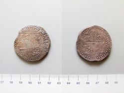 Silver 8 Reales of Philip II from Castile