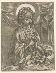 The Virgin Adoring the Sleeping Child
