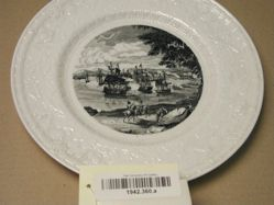 Plate: MacDonough's Victory on Lake Champlain