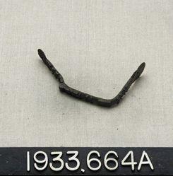 U-Shaped Bronze Handles