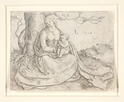 The Virgin with Child Seated Under a Tree