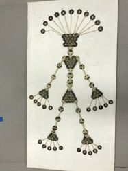 Amulet with Coins and String