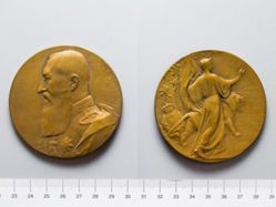 Bronze Medal from Belgium of Leopold II 1830-1905