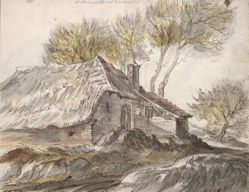 Cottage (recto); Shed (verso)