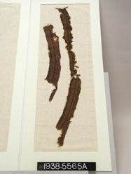 Textile, tape fragments (arabic)