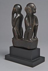 Carving with Two Figures