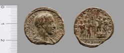 1 As of Severus Alexander, Emperor of Rome, from Rome