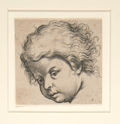 Untitled (child looking down)