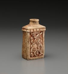 Flask with Ballplayer