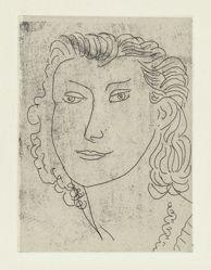 Visage de trois-quarts (Three-quarter View of a Face)