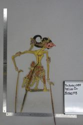 Shadow Puppet (Wayang Kulit) of Setiyaki, from the set Kyai Drajat