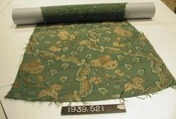 Compound cloth, brocaded