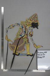 Shadow Puppet (Wayang Kulit) of Bayu, from the set Kyai Drajat