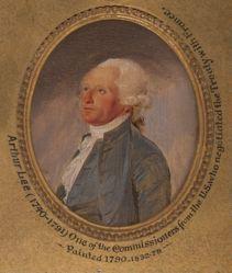 Arthur Lee (1740-1792), LL.D. 1781