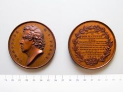 Bronze Medal from the United States Honoring Commodore M. C. Perry