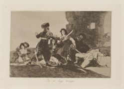 Ya no hay tiempo (There Isn't Time Now), Plate 19 from Los desastres de la guerra (The Disasters of War)