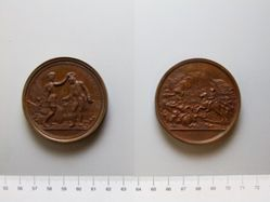 Copper medal of Daniel Morgan, the Battle of Cowpens
