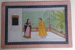 Radha as a Mature Heroine Who Scolds Her Lover for Infidelity (Khandita Nayika)
