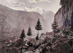 Lauterbrunnen and Jungfran