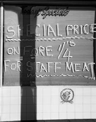 Special Price of Fore 1/4's for Staff meat, Orange Grove, Johannesburg