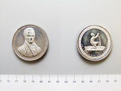 Silver medal of Thomas Clarkson